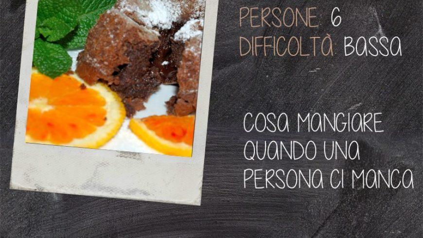 Cuore di cioccolata e arancia